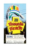 Pensacola Beach, Florida Welcome Sign
