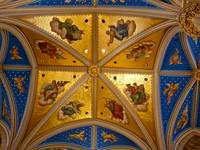 Basilica Ceiling at the University of Notre Dame