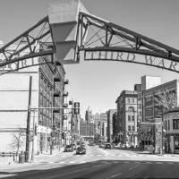 Entrance to Milwaukee's Historic Third Ward Art Prints & Posters by Jacki Mroczkowski