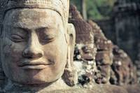 Faces of Avalokitesvara, Angkor Thom (Cambodia)