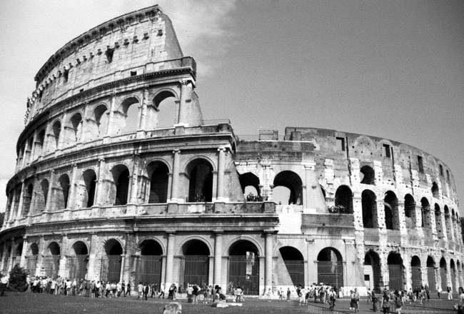 Roman colosseum by donnacorless 2003