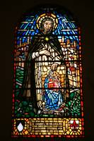 The Madonna in Stained Glass