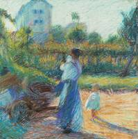 Woman in the Garden