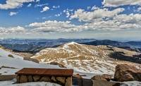 Front Row Seat On Mount Evans Summit_
