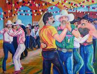 Barn Dance at the Gay Rodeo