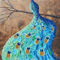 """""""Graceful Peacock"""" by ChristineBell"""