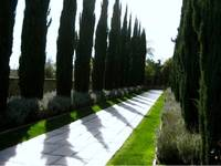 Garden Path Beverly Hills California Estate