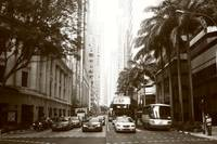 Black and white photography - City Singapore Shent