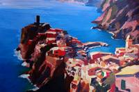 Spectacular Cinque Terre View to Vernazza Ligure