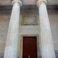 Columns of Second Bank of US in Philadelphia by Karen Adams