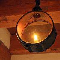 Old Light Fixture by Karen Adams