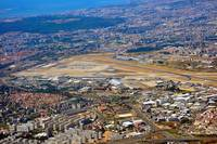 LPPT Lisbon Airport Unique Aerial View