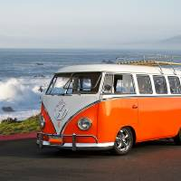 """""""VW Surfer Bus I"""" by FatKatPhotography"""