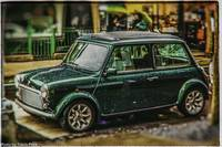 miniature Mini Cooper SoHo NYC