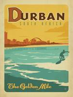 The Golden Mile, Durban, South Africa - Retro Trav