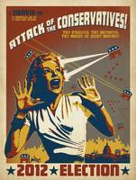 Attack of the Conservatives - Retro Political Post