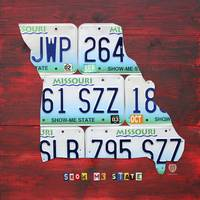 Missouri License Plate Art