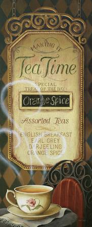 Tea Time Menu