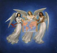 Angels with Map