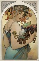 Mucha Fruit Panel