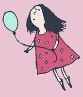 Balloon Girl Pink