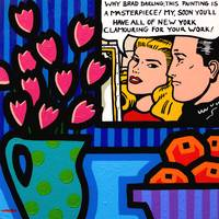 Still Life With Lichtenstein