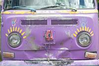 Vintage VW Magic Hippy Bus