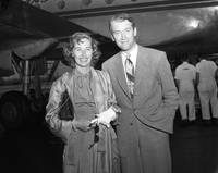 Jimmy Stewart and Wife
