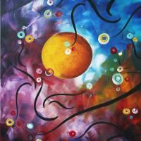 """""drama unleashed 3"" Original Painting"" by meganduncanson"