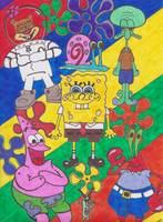 The Spongebob Squarepants Crew