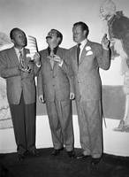 Bing Crosby, Jerry Colonna, and Bob Hope