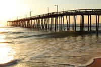 Nags Head Fishing Pier, the Outer Banks, North Car