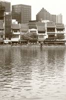 The Singapore River 2014, Black/white photography