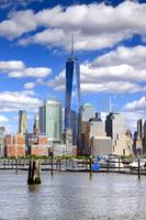 Freedom Tower and Manhattan Skyline