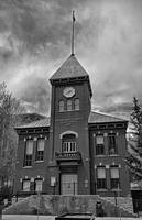 San Miguel County Courthouse BW