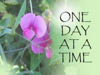 One Day at a Time Sweet Peas