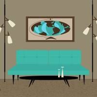Witco World No Cat Art Prints & Posters by Donna Mibus