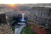 Sunrise at Palouse Falls