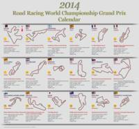 2014  Road Racing World Championship Grand Prix