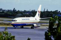 Cayman Airways B-737-200, VR-CNN