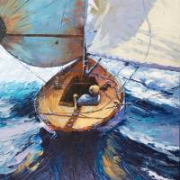 Gone Sailing  by Beth Charles