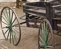 Wagon Wheels by Kirt Tisdale