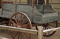 Green Wagon by Kirt Tisdale