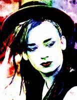 Boy George - Karma Chameleon - Pop Art