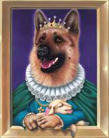 'Queen Shepard'- German Shepherd