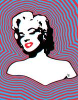 Marilyn Monroe - Pop Art - Hypnotize