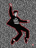 Elvis Presley - Jailhouse Rock - Lyrics - Pop Art
