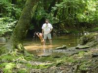 Gabby papaw creek splashing where does the time go