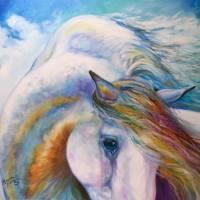 EQUINE ANGEL by Marcia Baldwin