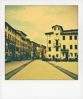 Lucca in polaroid style